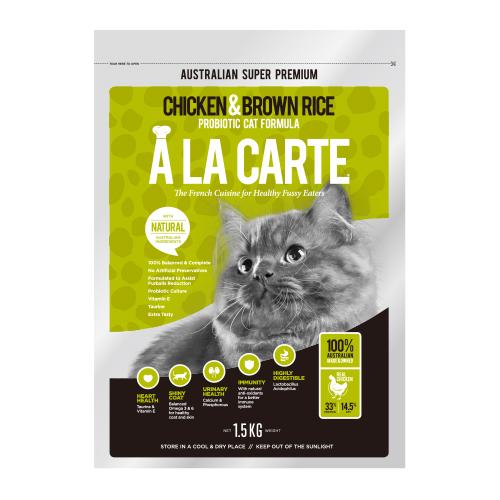 全齡貓-雞肉&益生菌配方