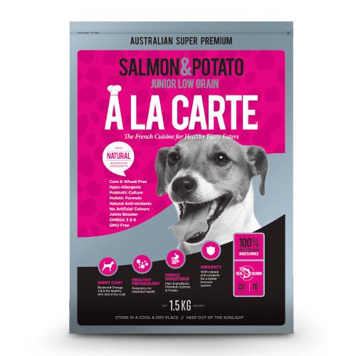 鮭魚低穀配方-敏感肌膚犬適用